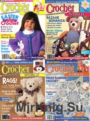 Архив журнала Crochet World за 2002 год