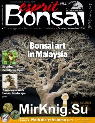 Esprit Bonsai International October-November 2016