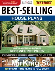 Best-Selling House Plans: 400 Dream Home Plans in Full Colour. 3rd Edition (2016)