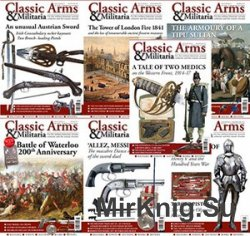 Classic Arms & Militaria - 2015 Full Year Issues Collection