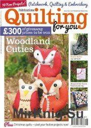 Fabrications Quilting for You №103 2016