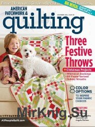 American Patchwork & Quilting №143 2016