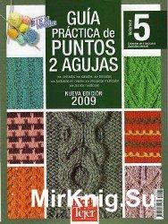 Moda Crochet Guia practica de puntos №5 2009