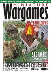 Miniature Wargames - October 2016