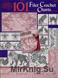 101 Filet Crochet Charts
