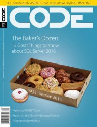 CODE Magazine — September-October 2016