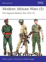 Modern African Wars (5) (Osprey Men-at-Arms 507)