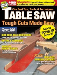 ShopNotes Table Saw: Tough Cuts Made Easy