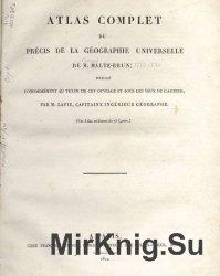 Atlas complet du précis de la géographie universelle  de M. Malte ...