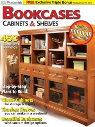 Woodsmith Bookcases, Cabinets & Shelves