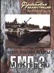 Боевая машина пехоты БМП-2 (Фронтовая иллюстрация)