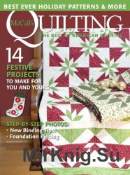 McCall's Quilting - November/December 2016