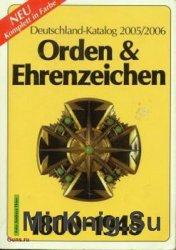 Deutschland Katalog Orden & Ehrenzeichen 1800-1945