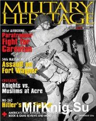 Military Heritage 2016-11