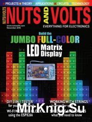 Nuts And Volts №11 2016
