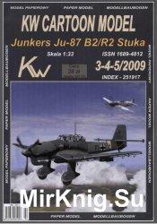 Junkers Ju-87 B2R2 Stuka [KW Model  3-4/52009]