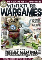 Miniature Wargames 2016-11