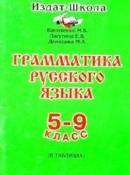 Грамматика русского языка в таблицах. 5-9 класс