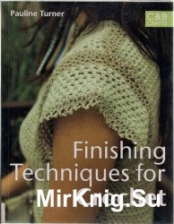 Finishing techniques for crochet