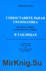 Сопоставительная грамматика русского и литовского языка в таблицах