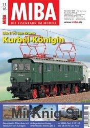 MIBA Die Eisenbahn im Modell 2016-11