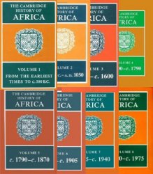 The Cambridge History of Africa: Vols. I-VIII