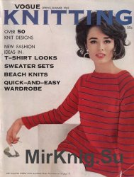 Vogue Knitting - Spring Summer 1962