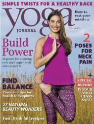 Yoga Journal USA — November 2016