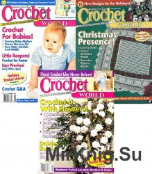 Архив журнала Crochet World за 2001 год