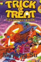 Trick or Treat. Coloring book