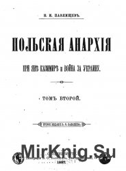 Польская анархия при Яне Казимире и война за Украину.Т.2.Царствование Яна Казимира. 1648—1668