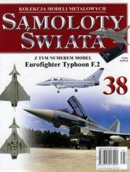 Eurofighter Typoon F.2 (Samoloty Swiata 38)