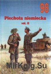 Piechota Niemiecka Vol.II (Wydawnictwo Militaria 98)