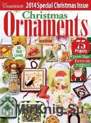 Just Cross Stich Vol.32 №6 Christmas Ornaments 2014