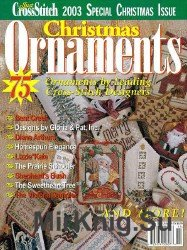 Just CrossStitch Special - Christmas Ornaments 2003