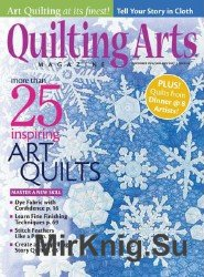 Quilting Arts Magazine №11 - 01 2016/2017