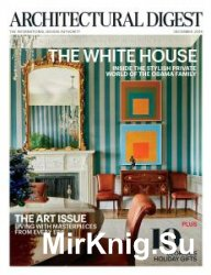Architectural Digest USA - December 2016