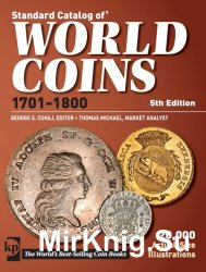 Standard Catalog of World Coins 18th Century 5th Edition 1701-1800