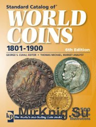 Standard Catalog of World Coins 19th Century 6th Edition 1801-1900