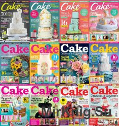 Cake Decoration & Sugarcraft - 2016 Full Year Issues Collection