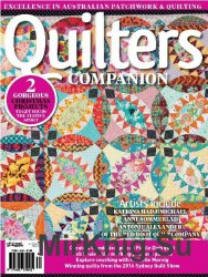 Quilters Companion №82, November/December 2016
