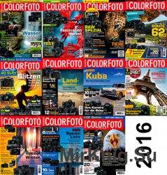 ColorFoto все выпуски за 2016 год