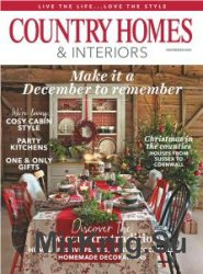 Country Homes & Interiors - December 2016