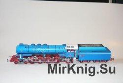 Parna lokomotiva SKODA 498.104 [Fifik ]