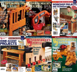 Woodworker's Journal - 2015 Full Year Collection