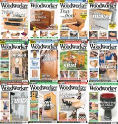 The Woodworker & Woodturner - 2015 Full Year Issues Collection