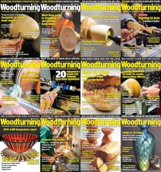 Woodturning - 2014 Full Year Issues Collection