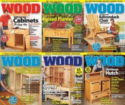 Wood Magazine - 2013 Full Year Issues Collection