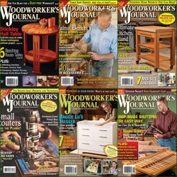 Woodworker's Journal - 2012 Full Year Issues Collection