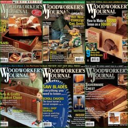 Woodworker's Journal - 2013 Full Year Issues Collection